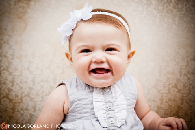 Cutest 6 Month Old Baby Girl Nicola Borland Photography