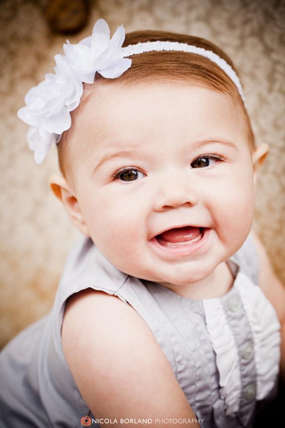 Cutest 6 Month Old Baby Girl {Hannah} - Nicola Borland ...
