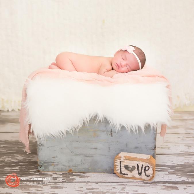 Pasadena newborn girl 01